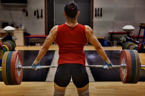 olympic lifter back