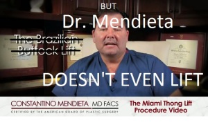 Dr. Mendieta doesn't even lift